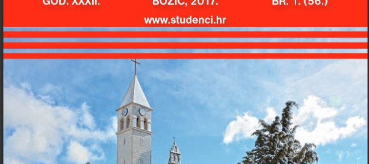 LIST STUDENCI – BOŽIĆ 2017.