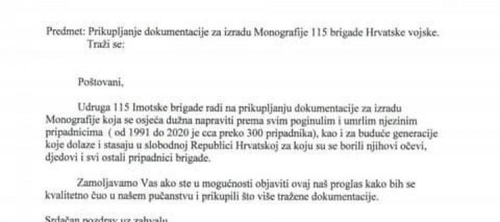 Poziv hrvatskim braniteljima